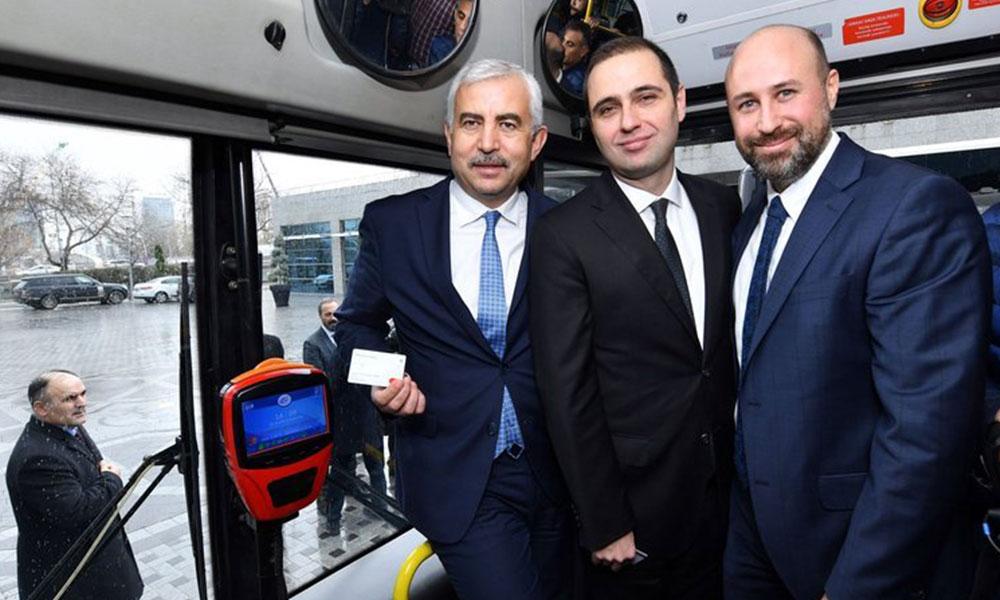 Başkentte toplu taşımada 'temassız' ödeme dönemi