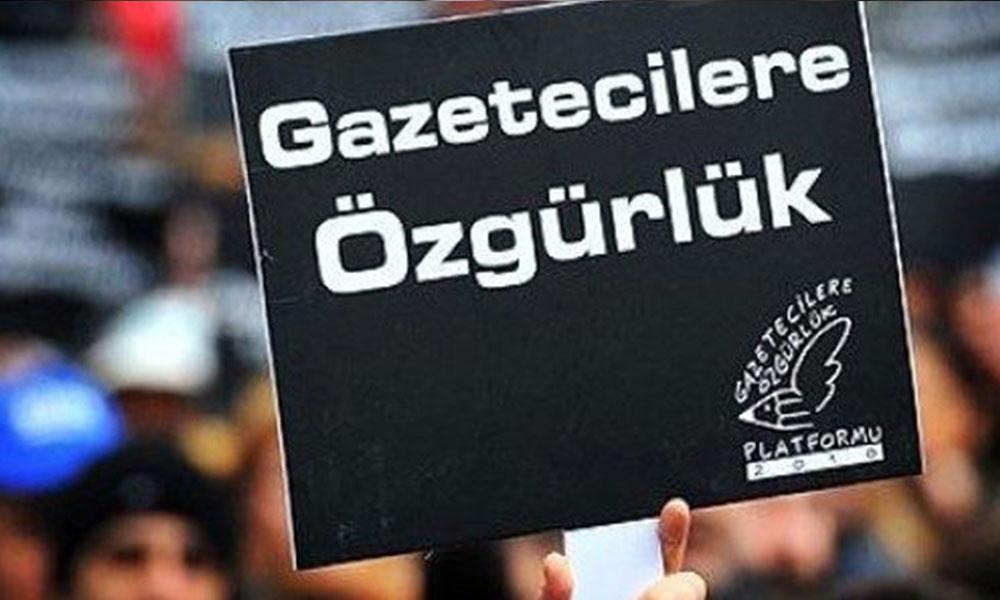 En çok tutuklu gazeteci bulunan ülke Türkiye!