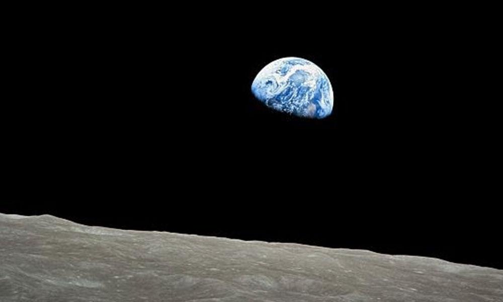 Dünya'nın uzaydan çekilen ilk renkli fotoğrafı 50 yaşında