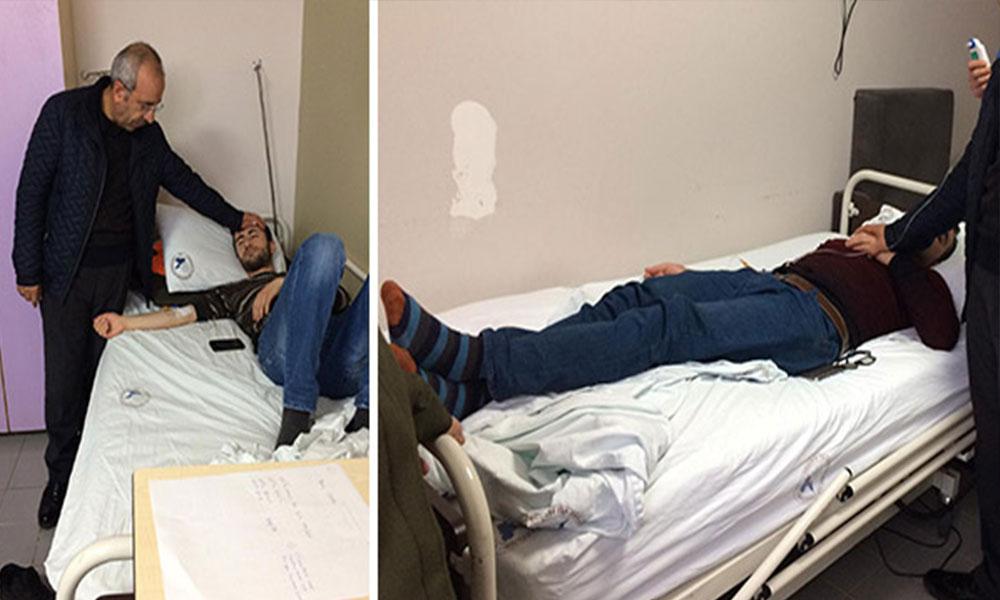 Yüzlerce üniversite öğrencisi hastaneye kaldırıldı