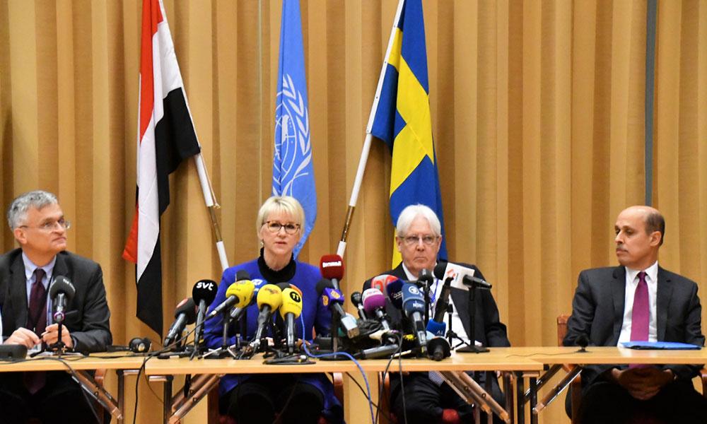 Yemen Müzakereleri, İsveç'in başkenti Stockholm'de başladı