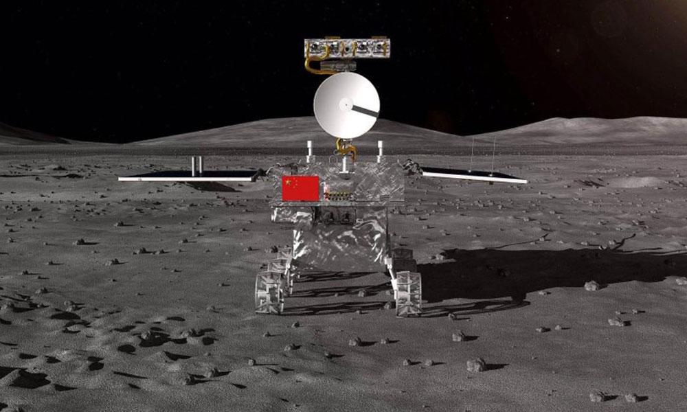 Tarihte bir ilk: Çin, Ay'ın karanlık yüzüne indi