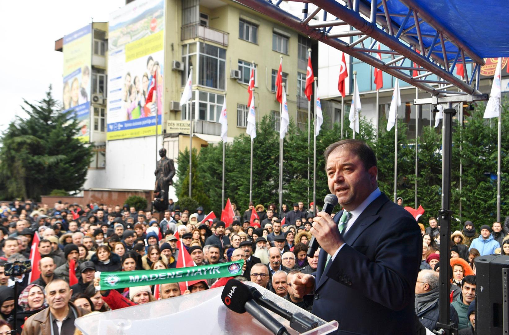Başkan Kılıç'tan iddialara yanıt: Onlarla yargıda hesaplaşacağız