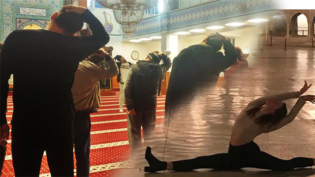 'Ayasofya'da bale pozu'na inceleme… Bakanlık ise camide aerobik yaptırdı
