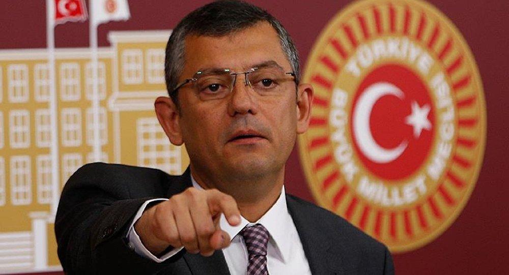 CHP'li Özel: Balyozcu, Ergenekoncu denilen kahramanlar bana sahip çıktı