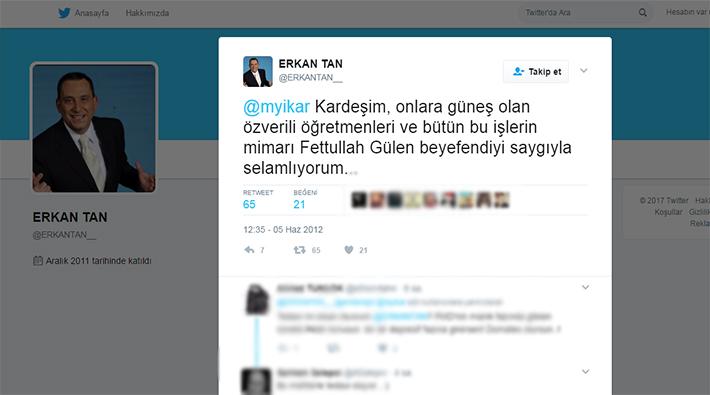'Gezicilerin başı kesilsin' diyen Erkan Tan: Kılıçdaroğlu cehenneme gidecek