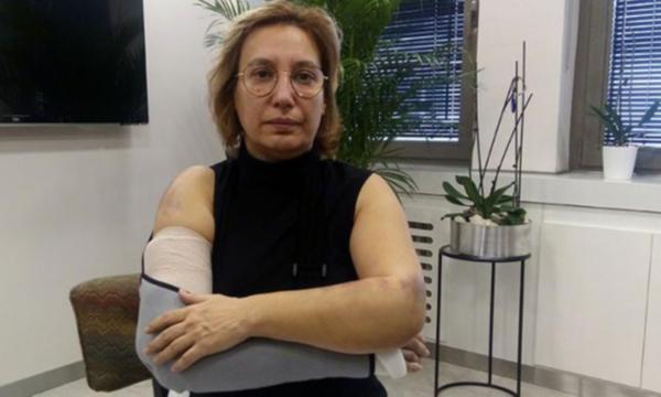 Kadın doktora beyzbol sopalı saldırı