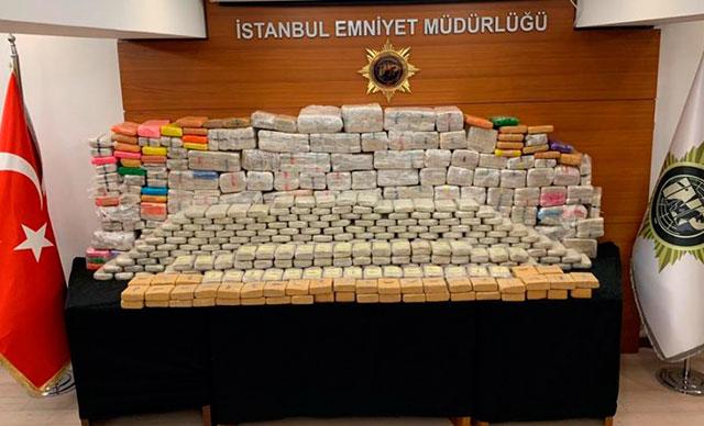 İstanbul'da büyük operasyon: 850 kilogram eroin ele geçirildi!