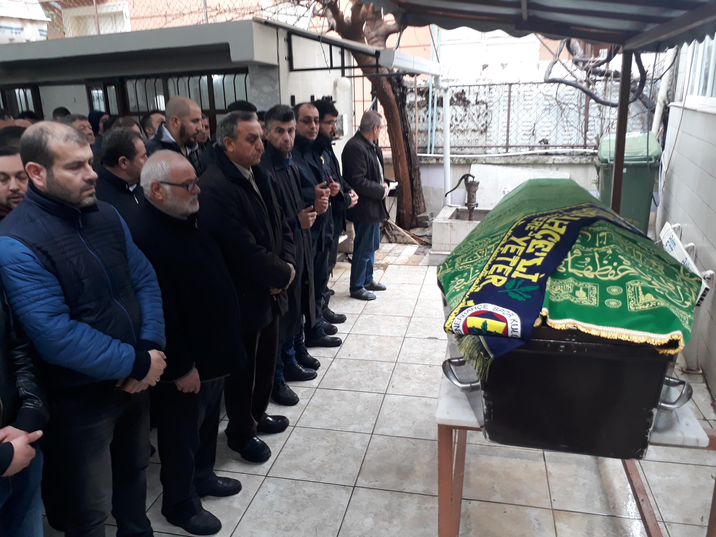Ahmetcan, Fenerbahçe atkısı ile son yolculuğuna uğurlandı
