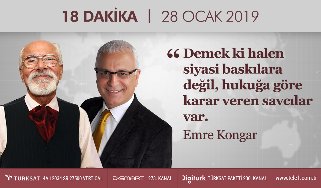 """""""İstanbullunun parası AKP'li vakıflara gidiyor"""" – 18 Dakika (28 Ocak 2019)"""