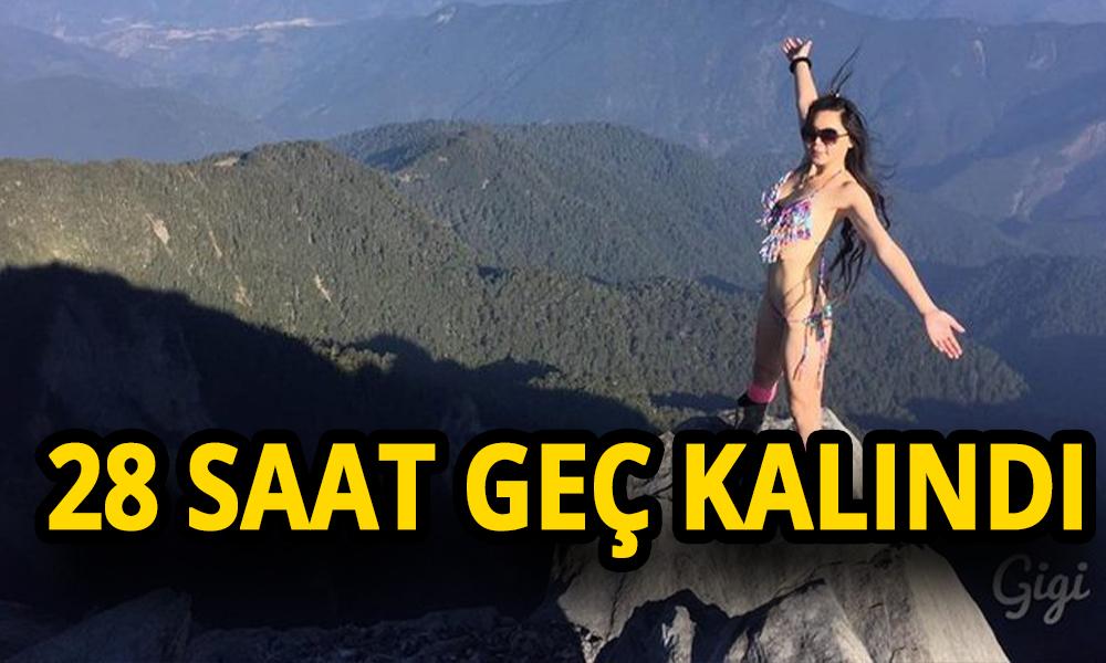 Bikinili dağcı Gigi donarak öldü!