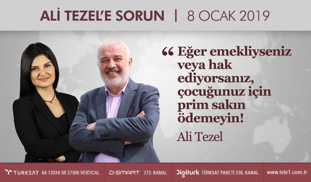 Ali Tezel'den ailelere çok önemli uyarı! – Ali Tezel'e Sorun (8 Ocak 2019)