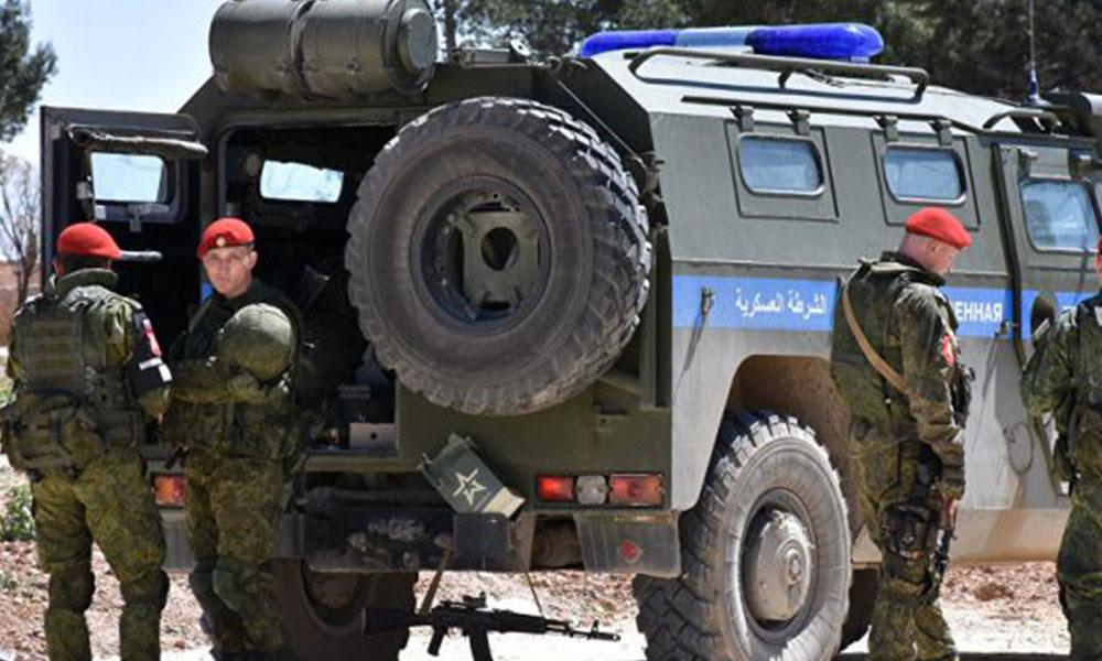 Rus askeri polisi, Menbiç'te devriyeye başladı