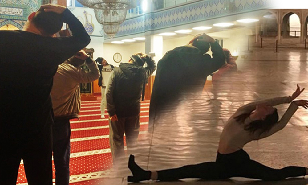 'Ayasofya'da bale pozu'na inceleme başlatılmasının ardından bakanlık'tan camide aerobik
