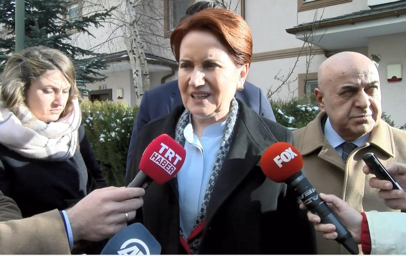 Akşener, Ceren Damar'ın ailesine taziye ziyaretinde bulundu