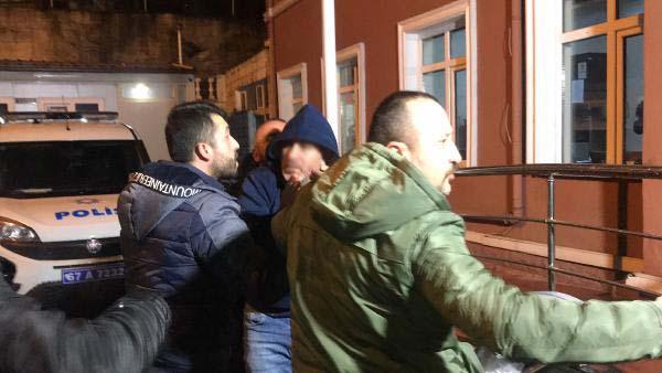 2 yaşındaki kızını rehin alan baba gözaltına alındı