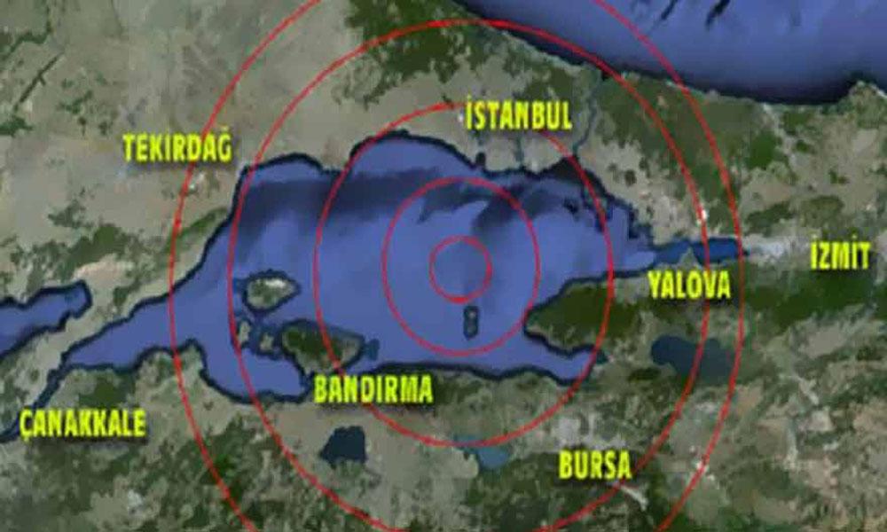 Profesör Cenk Yaltırak uyardı:  7.2 büyüklüğünde deprem…