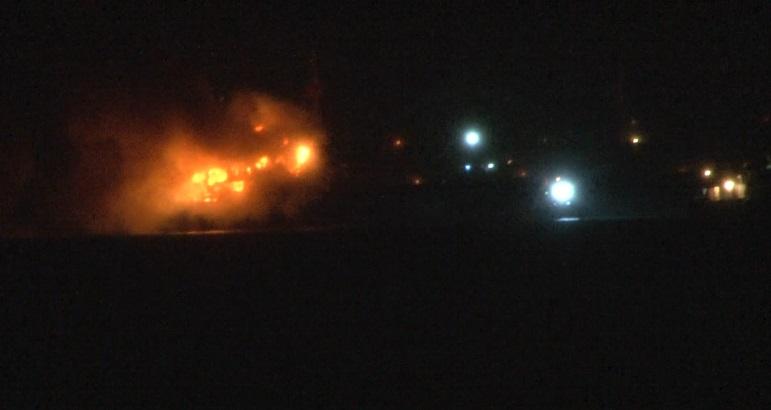 İstanbul Pendik'te gemi yangını: 15 mürettebat kurtarıldı