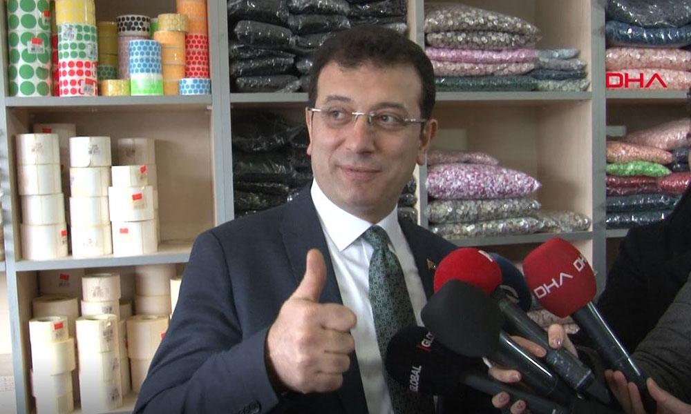 Ekrem İmamoğlu, Güngören'de köfteci olarak işlettiği dükkanı ziyaret etti
