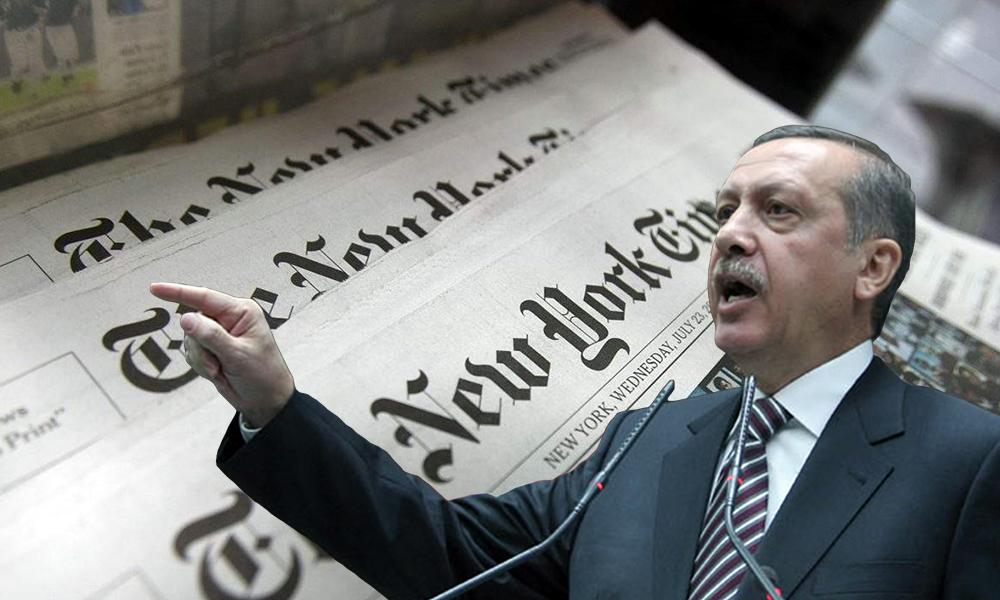 'New York Times'taki Türkiye, Türkçe gazetelerdeki Türkiye'den bir hayli farklı '