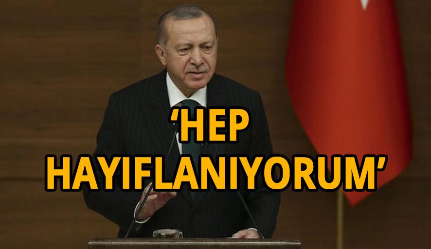 Erdoğan: 16 yılda kültür sanat alanında yeteri kadar mesafe alamadık