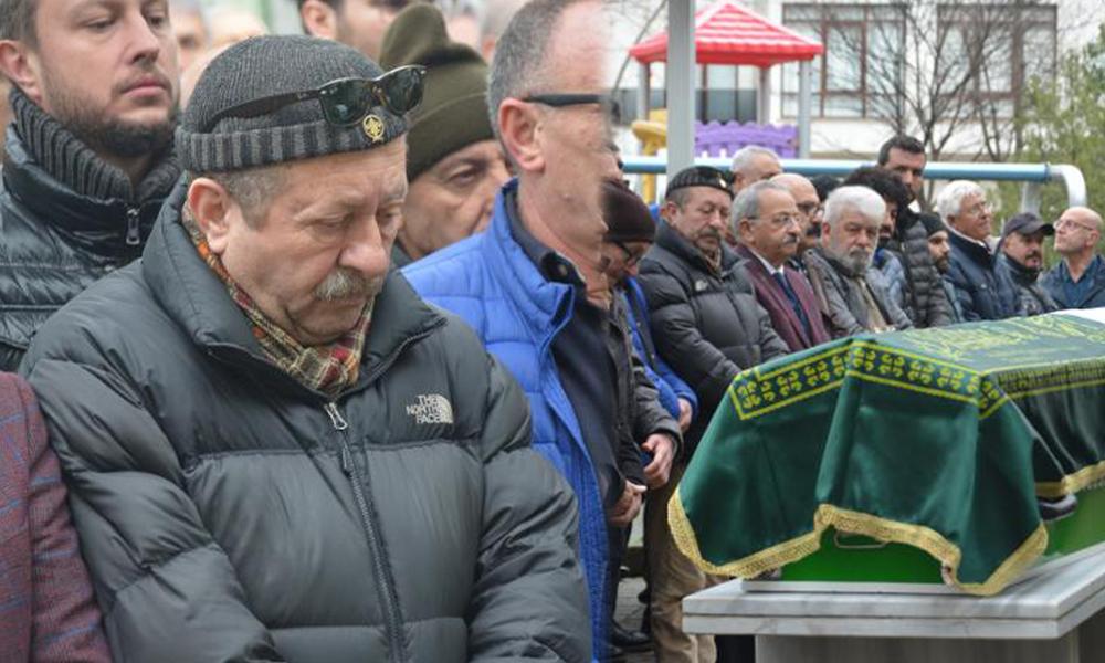 Erkan Can'ın acı günü: Ağabeyini son yolculuğuna uğurladı