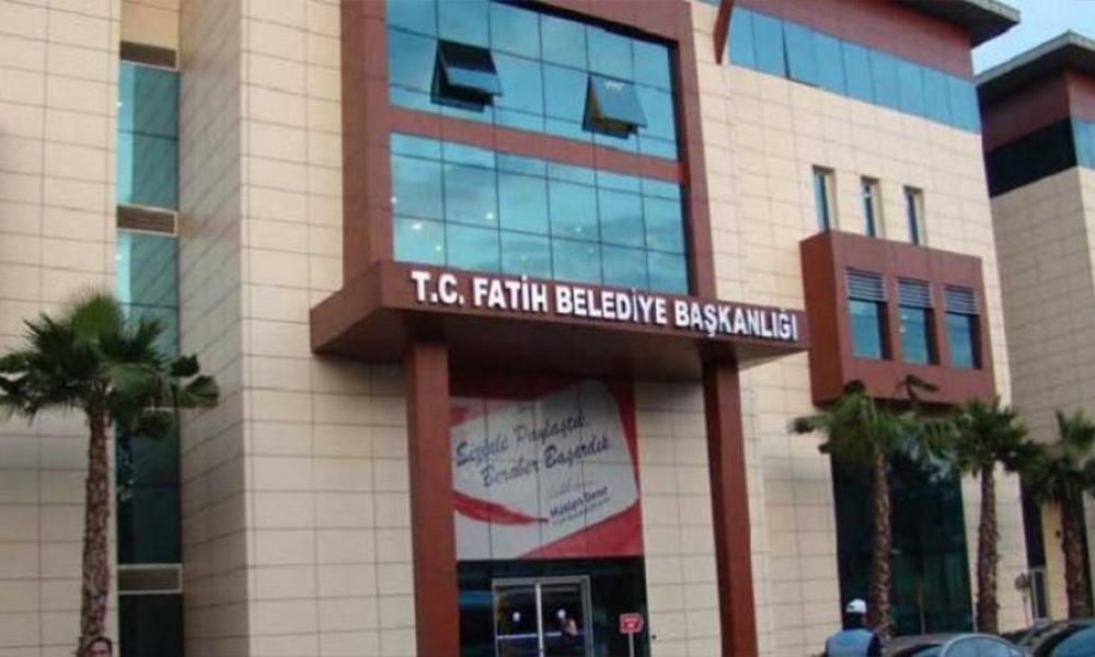 AKP'li Fatih Belediyesi'ne soruşturma