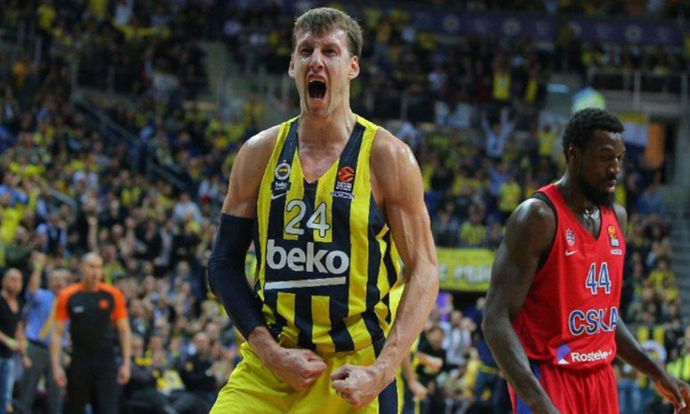Fenerbahçe Beko'da Jan Vesely, altı hafta yok