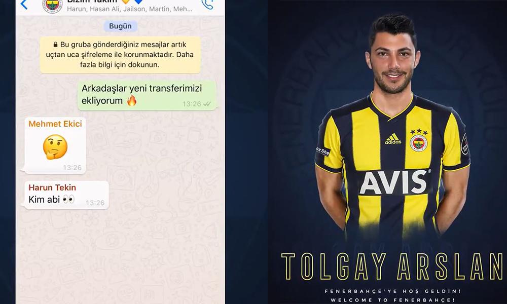 Fenerbahçe WhatsApp grubundan 'bizim takım' paylaşımı