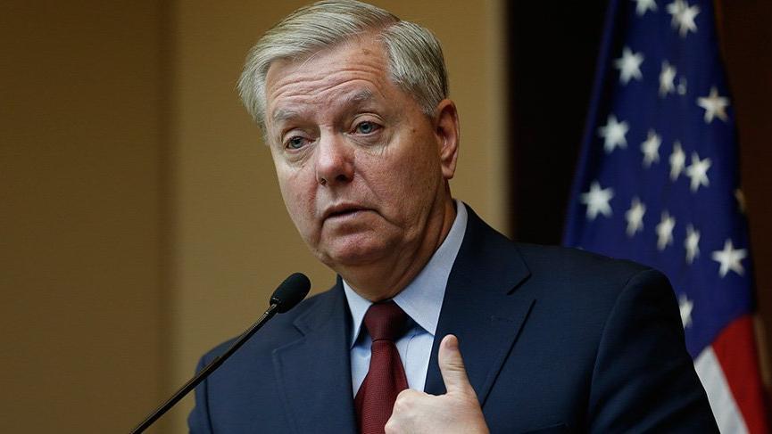 ABD'li Senatör Graham: Türkiye'ye İran'dan bu yana en ciddi etkiyi yaratacak yaptırımların uygulanması için Başkan'la birlikte çalışıyoruz