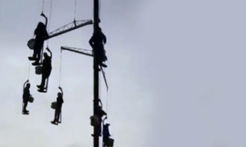 İran'da Bando ekibi 'idamı' böyle protesto etti