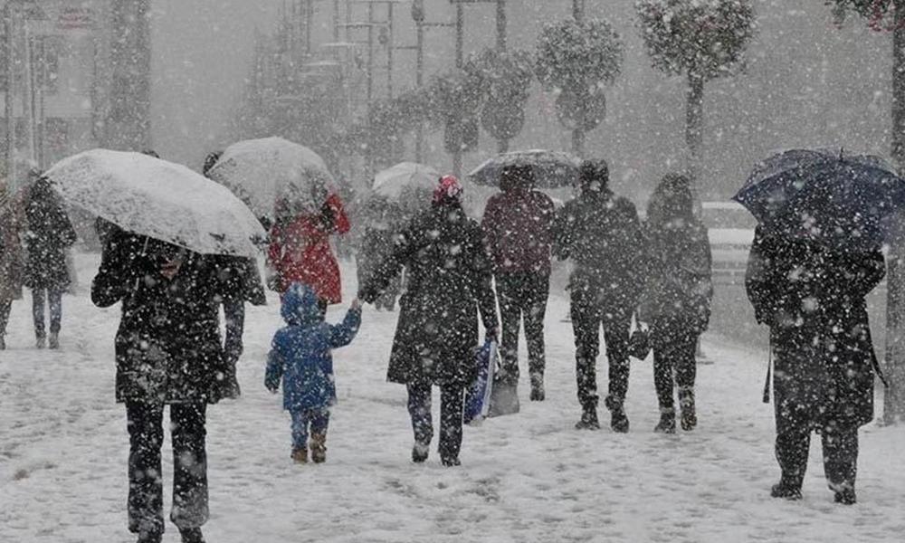 Meteoroloji 14 ili kuvvetli kar yağışı için uyardı
