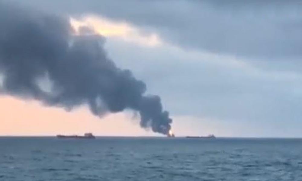 Kerç Boğazı'nda iki gemi alev aldı:14 ölü… 31 mürettebattan 16'sı Türk… Kurtarılan 8 Türk'ün isimleri
