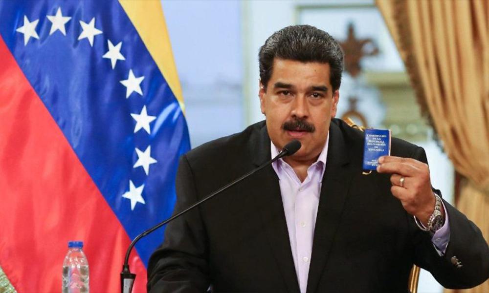 Nicolas Maduro'dan darbecilere: Kesilmesi gereken kafaları keseceğiz!