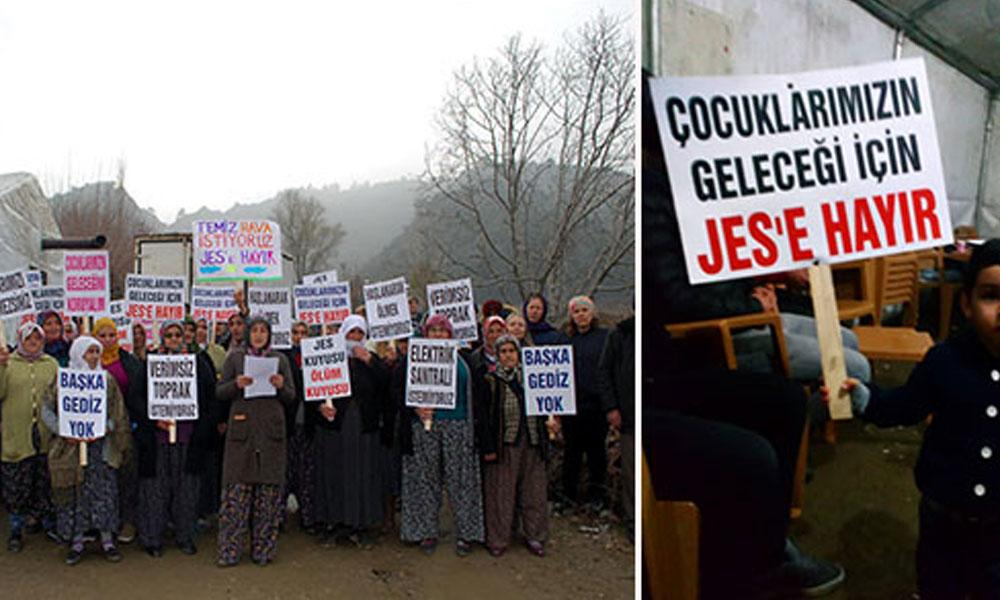 Hacıbektaşlı Mahallesi'nde 'Jeotermal Santral'e karşı direniş sürüyor
