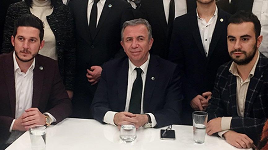 Mansur Yavaş, CHP ve İYİ Partili gençlerle bir araya geldi