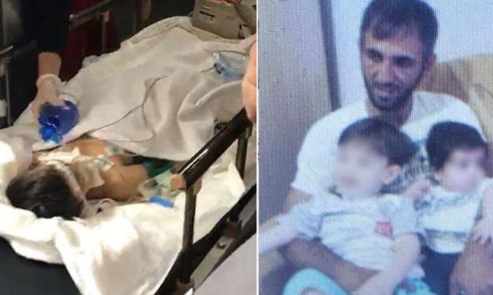 Babasının komalık ettiği 6 yaşındaki Mertcan'dan acı haber!