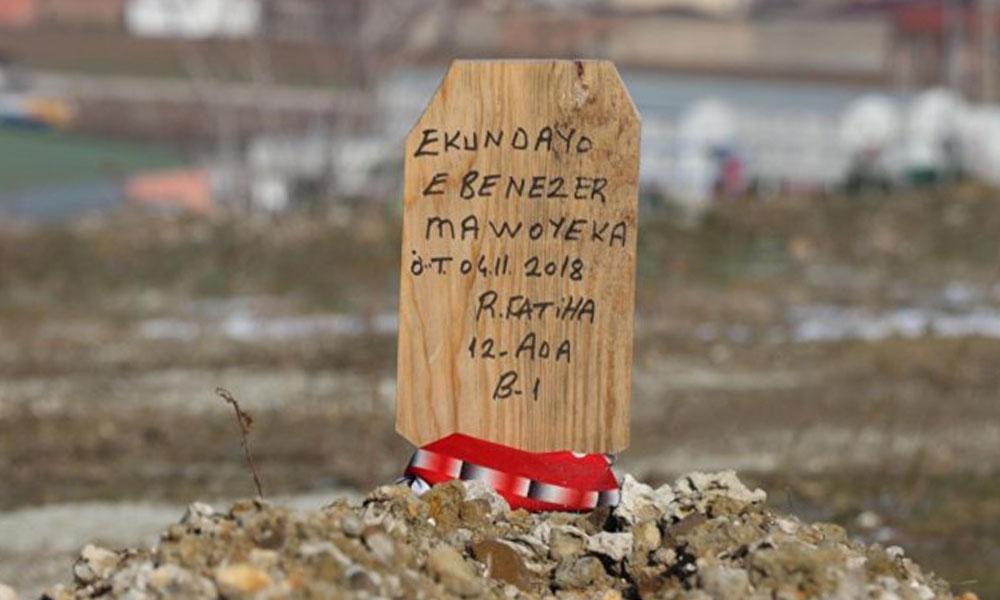 Hıristiyan futbolcunun mezarına 'Ruhuna Fatiha' yazdılar!