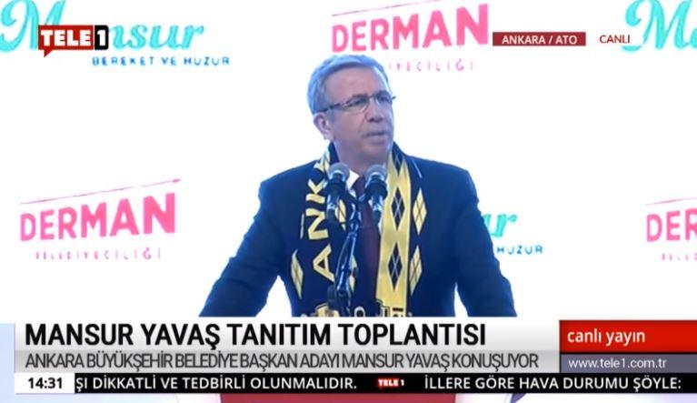 Mansur Yavas Projelerini Acikladi Ankara Icin Ilk Sozunu