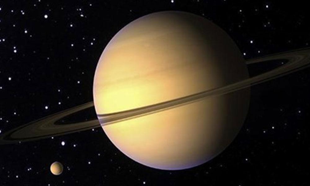 Satürn, milyarlarca yıl boyunca halkasızdı
