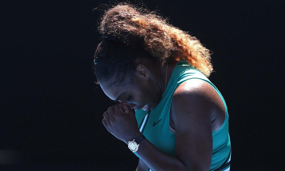 Serena Williams sakatlandı, gözyaşlarıyla veda etti