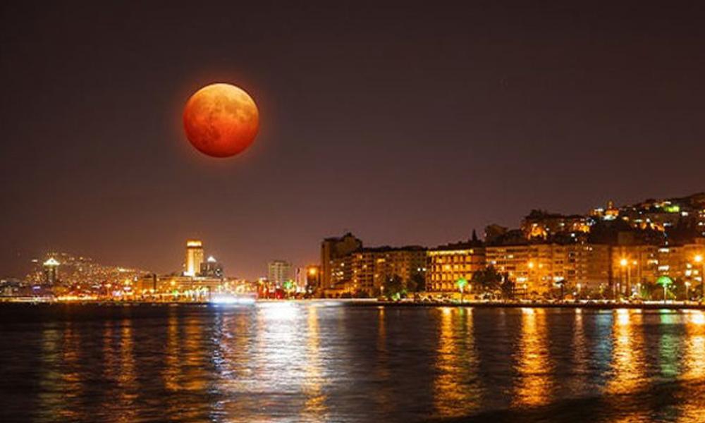 21 Ocak Süper Kanlı Ay Tutulması nereden izlenebilecek? kaç saat sürecek?