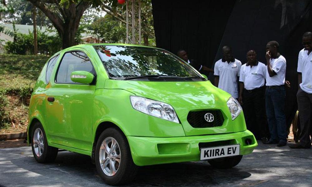 Uganda, yerli hibrit araçlar üretti