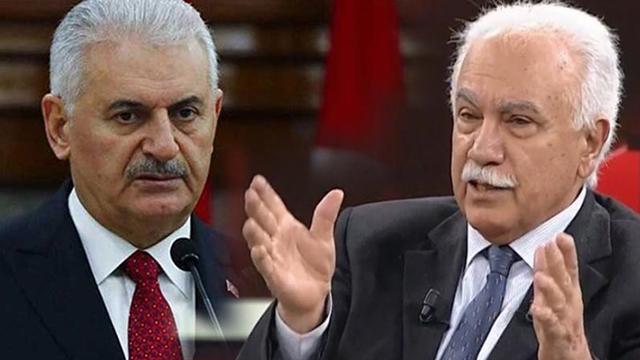 Binali Yıldırım ile görüşen Doğu Perinçek: Türkiye'nin önündeki zorlukları birlikte göğüsleyeceğiz!