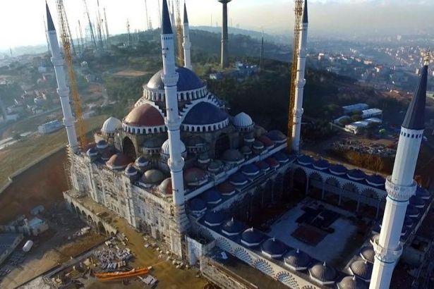 Çamlıca Cami inşaatında yer alan şirket iflas etti