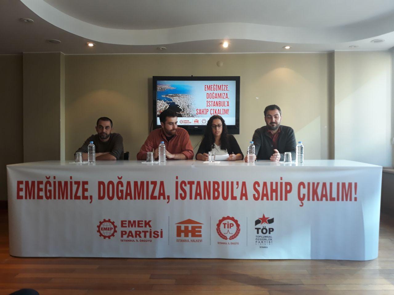 Sosyalistlerin ortak seçim tavrı: İstanbul AKP'ye bırakılamaz