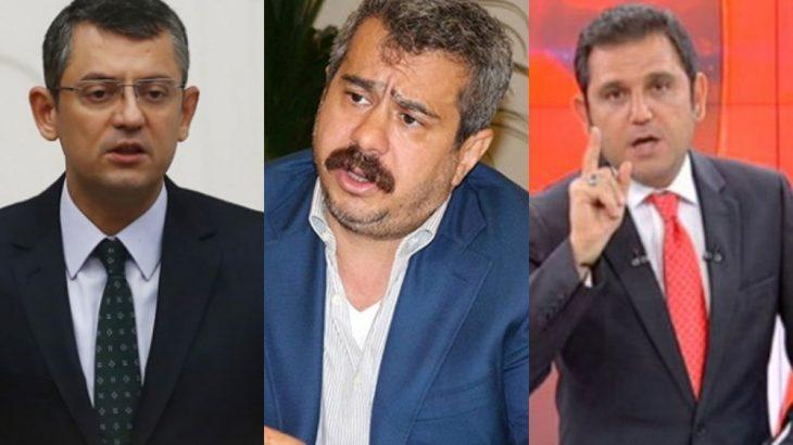 CHP'li Özgür Özel'den Fatih Portakal'a 'Mehmet Fatih Bucak' yanıtı