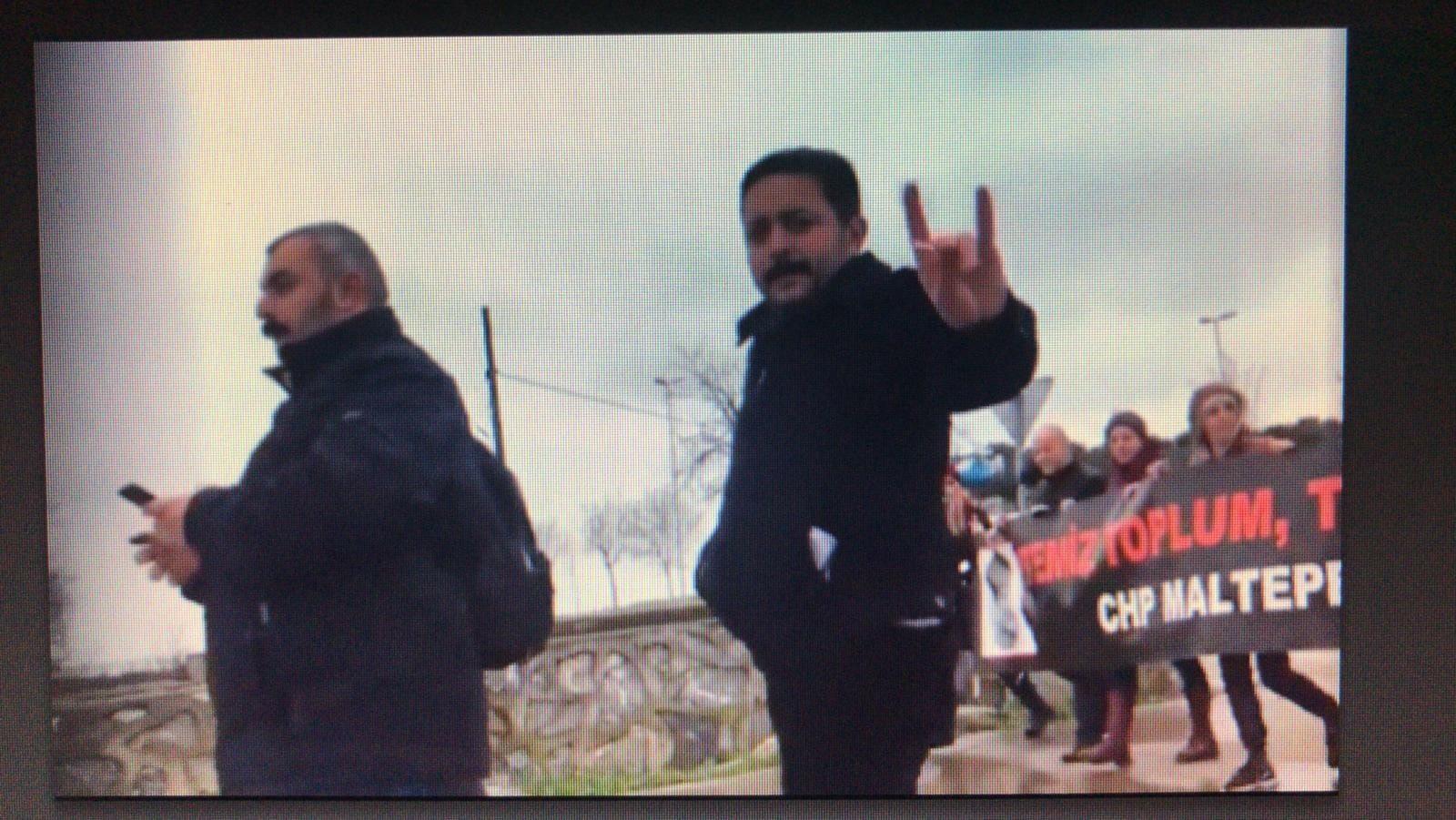 Ankara'ya yürüyen CHP'lilere, 'ülkücü desteği'