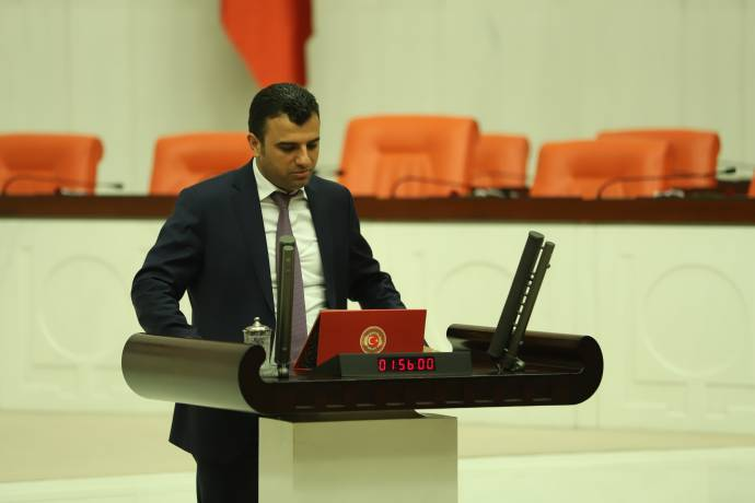 HDP, seçim bürosu açılışına yönelik saldırıyı Meclis'e taşıdı