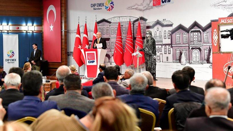 CHP Emek Bürosu'ndan 'sokak ekonomisi' çalıştayı